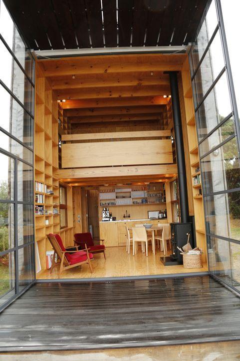 Schlitten-Haus und Hausboot in Prag - Bildquelle: 2013, HGTV/ Scripps Networks, LLC. All Rights Reserved.
