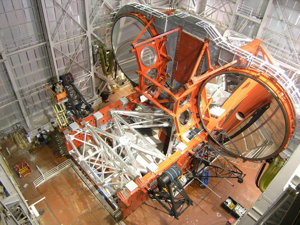 Das größte Teleskop der Welt - Bildquelle: Joe Myerscough Joe Myerscough