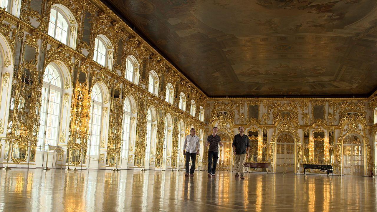Bis heute weiß man nicht, was nach dem Zweiten Weltkrieg mit dem berühmten Bernsteinzimmer geschah, das einst der preußische König dem russischen Za... - Bildquelle: 2015, The Travel Channel, L.L.C. All Rights Reserved.