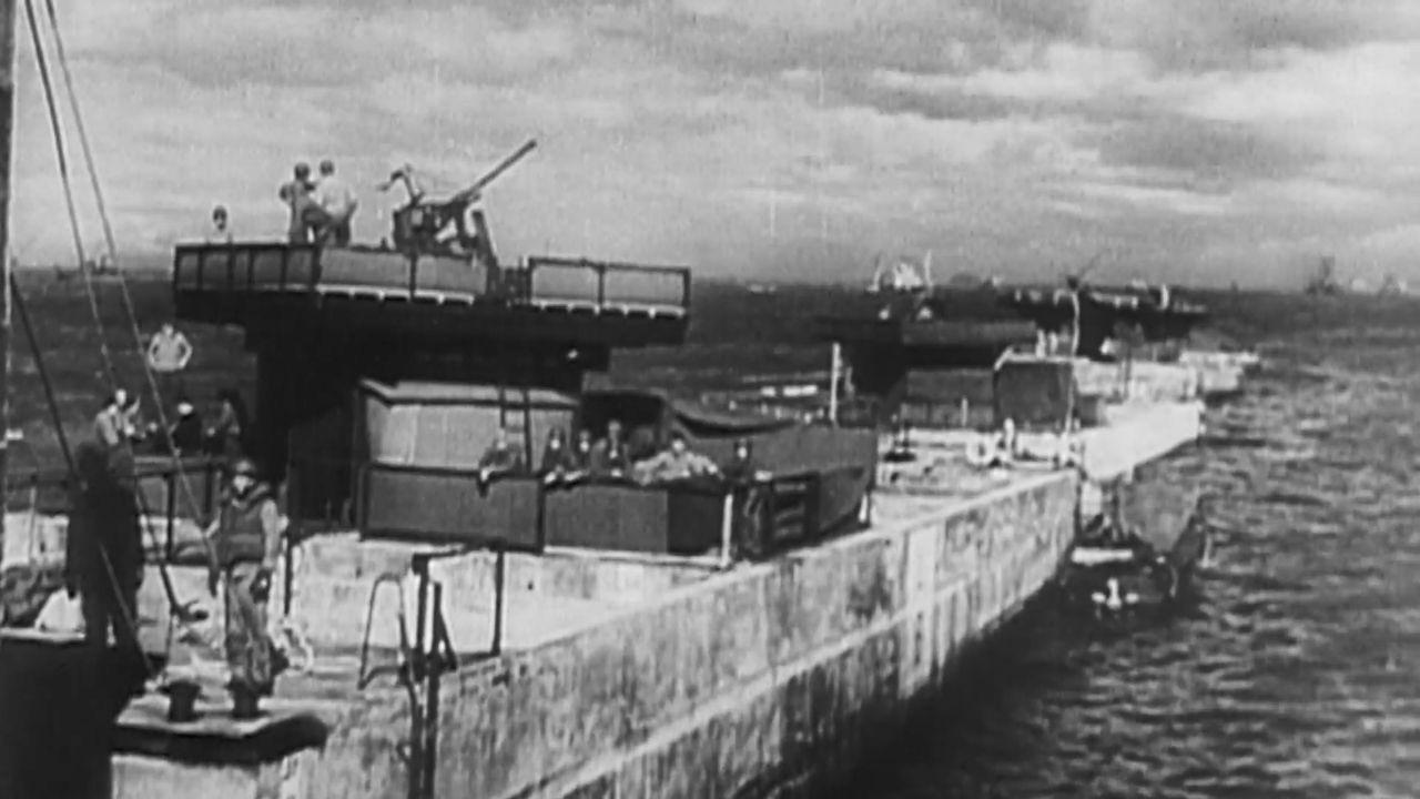 In der französischen Stadt Caen liefern sich die Deutschen eine erbitterte S... - Bildquelle: Impossible Factual / Critical Past
