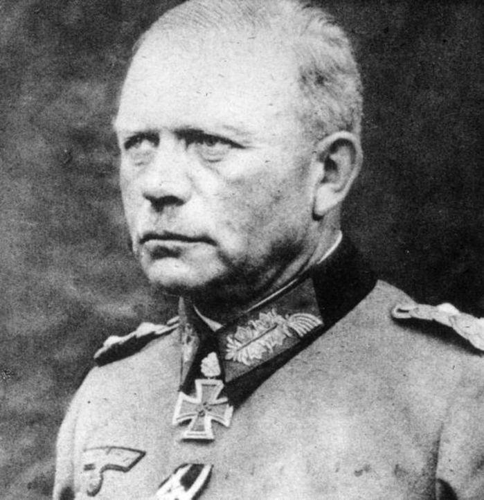Heinz Guderian gilt, was das deutsche Heer anbelangt, als Erfinder der Panzertruppe als selbständige Truppengattung und war maßgeblich an der Entwic... - Bildquelle: Keystone/Getty Images