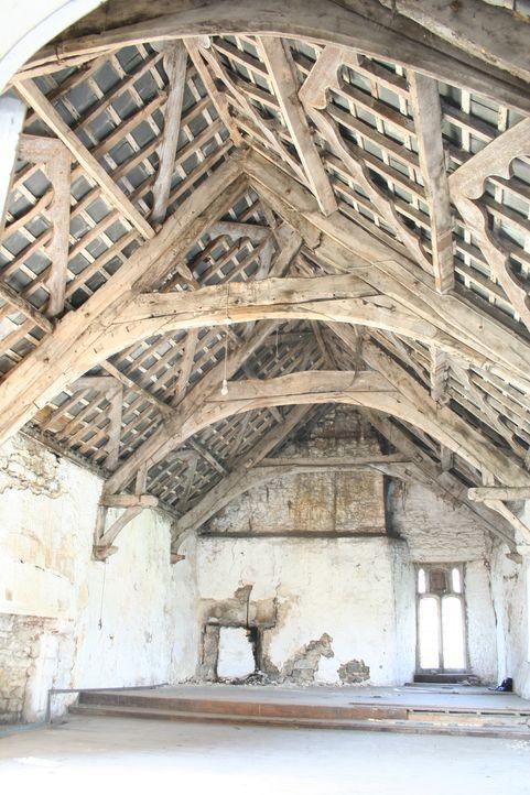 """Architekt Georeg Clarke baut in """"Restoration Man - Retter der Ruinen"""" aus einem ausgedienten Wasserturm, einer verfallenen Kirche oder aber auch aus... - Bildquelle: 2014 Cable News Network, Inc. A TimeWarner Company All rights reserved"""