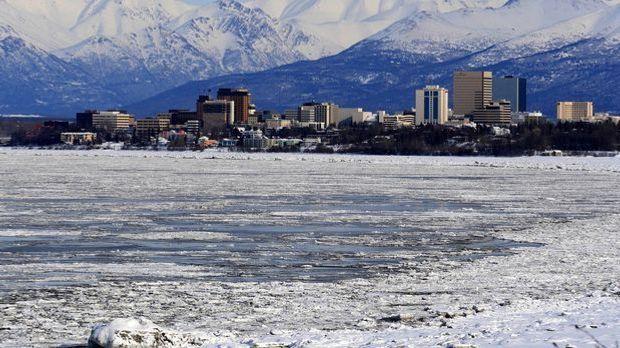 Anchorage ist heute mit knapp 300.000 Einwohnern die größte Stadt in Alaska.