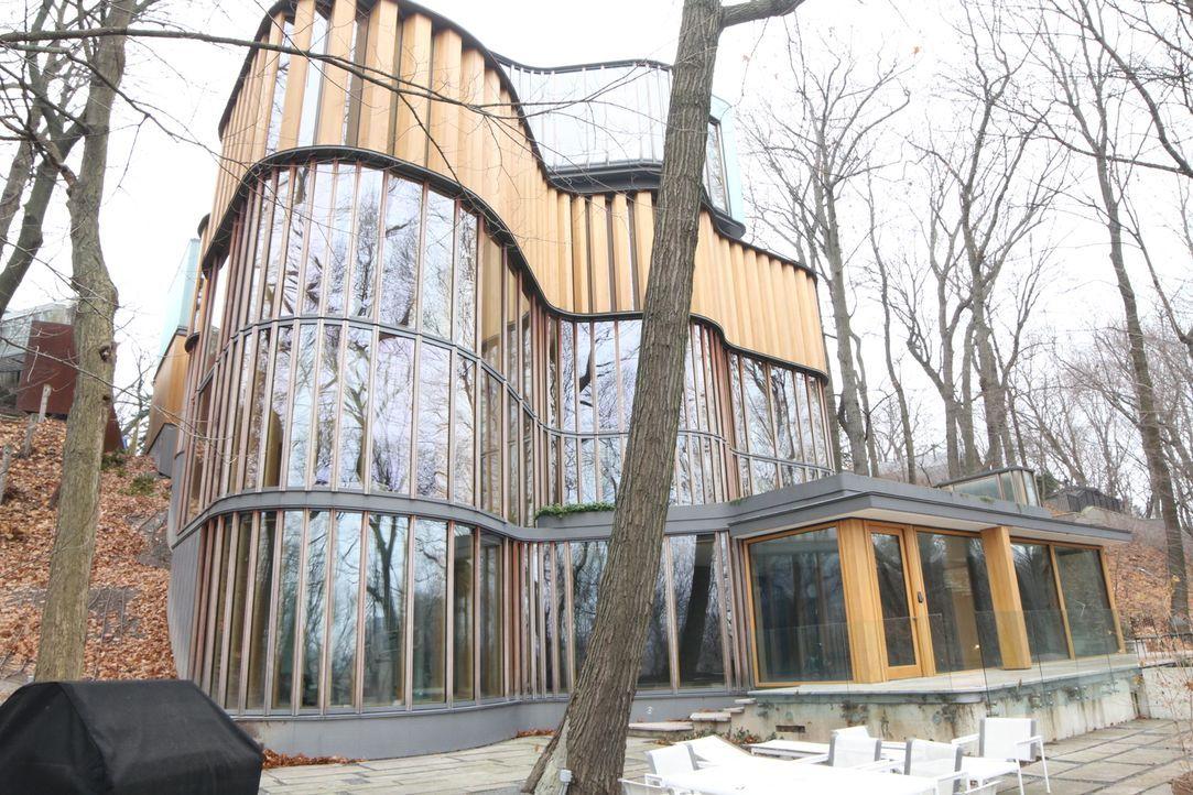 Zu den heutigen spektakulären Häusern weltweit gehören ein Anwesen in Kanada... - Bildquelle: 2013, HGTV/ Scripps Networks, LLC. All Rights Reserved.