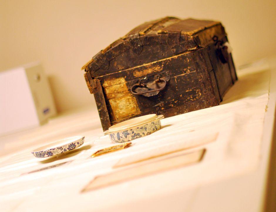 Geheimnisvoll: Don Wildman rekonstruiert die Reise eines historischen Holz-Koffers durch das Death Valley. - Bildquelle: 2012,The Travel Channel, L.L.C. All Rights Reserved