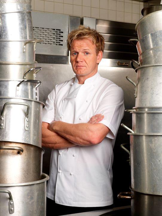 Sternekoch Gordon Ramsay setzt all sein Wissen und seine Erfahrung ein, um schlecht laufende Restaurants aus der Krise zu retten. - Bildquelle: George Holz Fox Broadcasting.  All rights reserved.