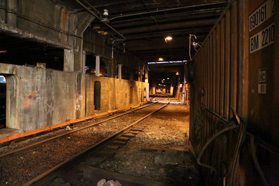 Um das Grand Central Terminal ranken sich einige Mythen und Sagen. Unter anderem wird gemunkelt, dass es ein geheimes Bahngleis nur für den Präsiden... - Bildquelle: Indigo Films/ DCL