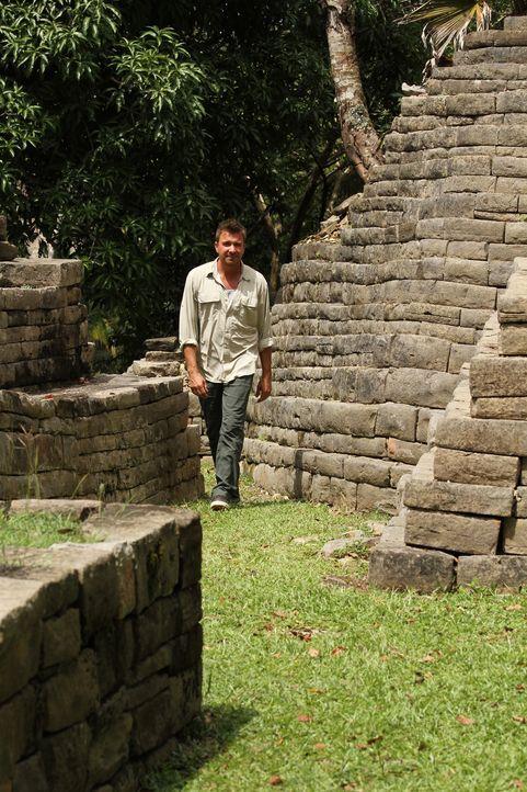Jack Maxwell auf den Spuren der Mayas: Belize befindet sich im Südosten der Halbinsel Yucatán und ist kulturell und kulinarisch stark geprägt von de... - Bildquelle: 2014, The Travel Channel, L.L.C. All Rights Reserved.