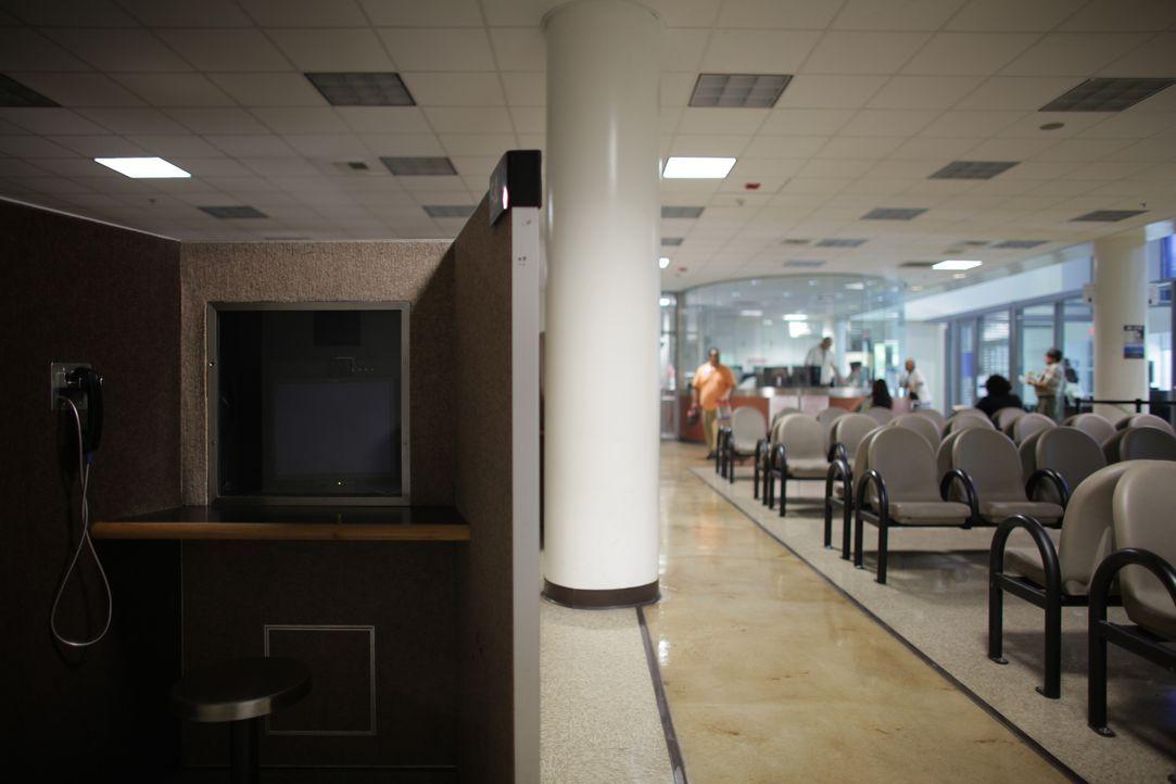 Der Besucherbereich des Gefängnisses ist der Aufenthaltsraum für Familie und Freunde der Häftlinge ... - Bildquelle: James Peterson National Geographic Channels/ Part2 Pictures