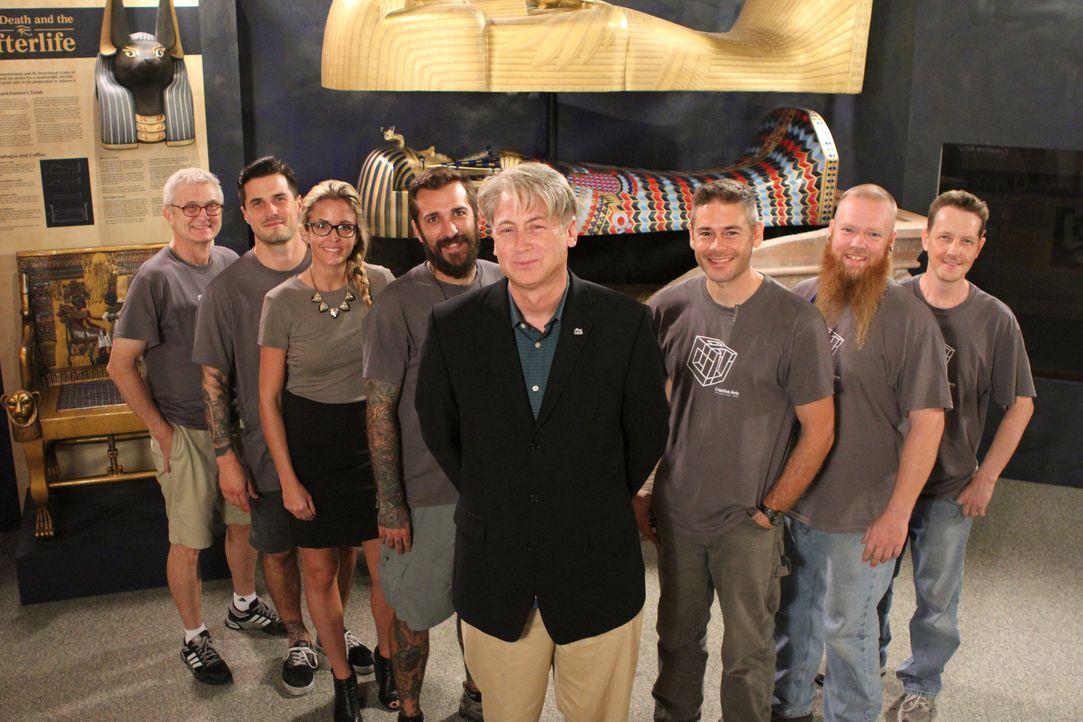 """Das Team von """"Creative Arts"""" soll helfen, Besucher ins Geschichtsmuseum in St. Petersburg, Florida, zu locken. Dafür entwerfen sie eine völlig neue... - Bildquelle: 2014 A&E TELEVISION NETWORKS, LLC. ALL RIGHTS RESERVED."""