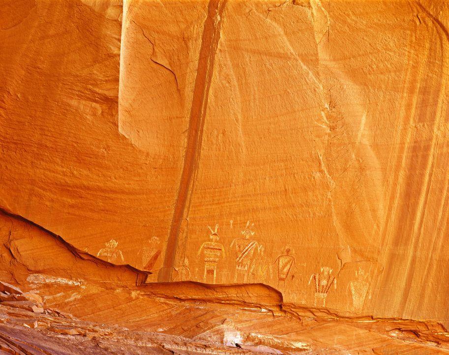 Könnten die mysteriösen Geschichten und Funde der damaligen Zeit in Nordamerika Beweise für außerirdischen Kontakt sein? - Bildquelle: SuperStock