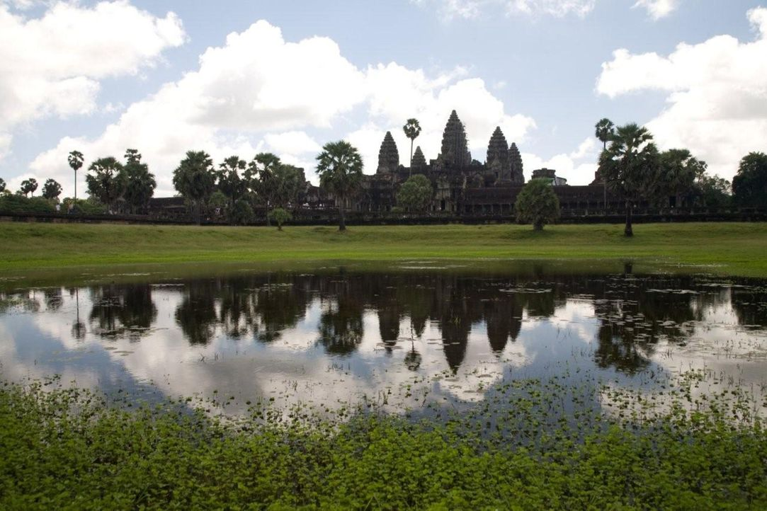 Einer der berühmtesten Tempel der Welt: Angkor Wat ... - Bildquelle: 2008 Darlow Smithson Productions Ltd, an IMG Entertainment Company. Parallax Film Productions Inc.