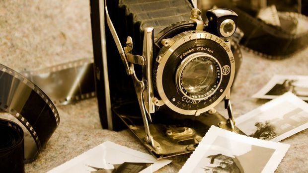 Klassischer analoger Fotoapparat