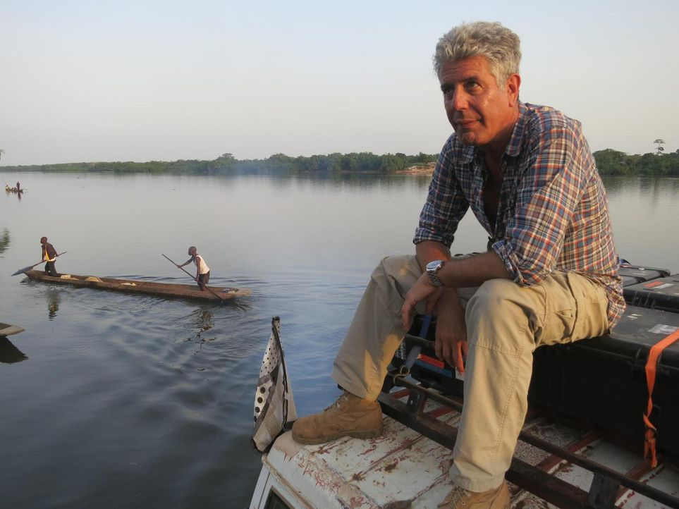 Anthony Bourdain reist in den Kongo. Das Land, das einst durch seine Industrialisierung eine herausragende Rolle in Afrika spielte, droht im Chaos z... - Bildquelle: 2013 Cable News Network, Inc. A TimeWarner Company. All rights reserved.