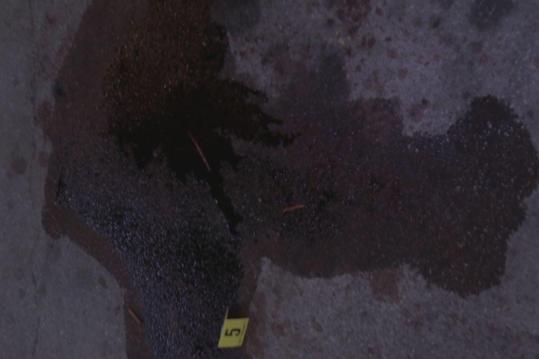 Verraten die Blutspuren am Tatort Ermittler Lt. Joe Kenda und seinem Team erste Hinweise auf den Mörder? - Bildquelle: Jupiter Entertainment