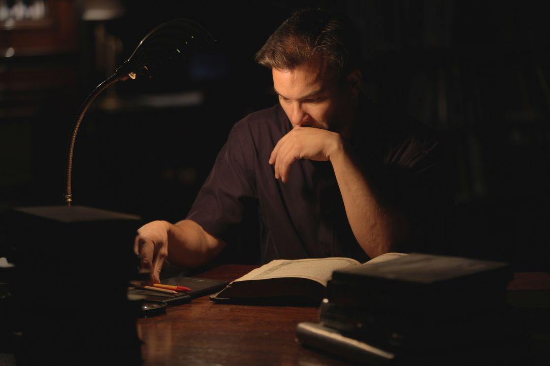 Rätsel der Geschichte: Autor Graham Philips (Foto) versucht seit über 15 Jahren, den Stab des Mose zu finden. Hat er ihn nun endlich entdeckt? - Bildquelle: Eleanor Scaglioni WMR / Eleanor Scaglioni
