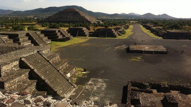 Die Ruinenstadt Teotihuacán