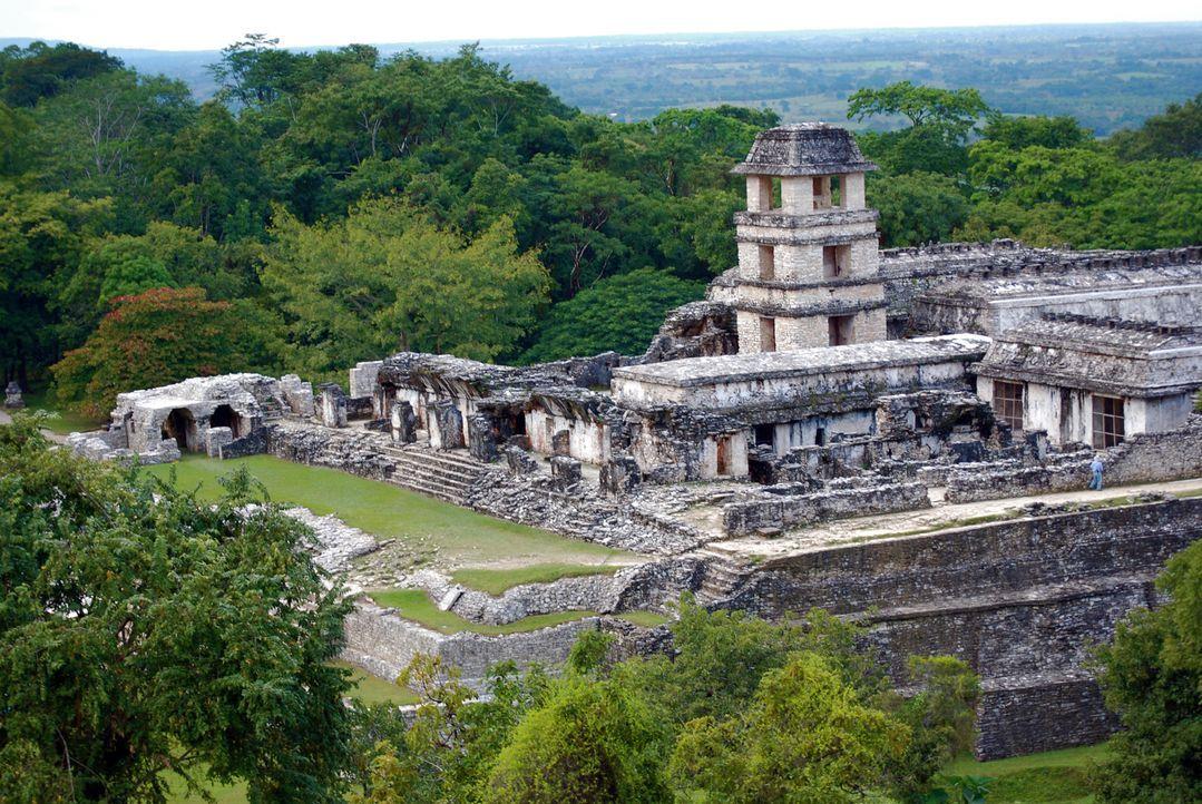 Haben die Maya mit Außerirdischen kommuniziert? Bis heute beschäftigt der Untergang der Maya viele Wissenschaftler und Verschwörungstheoretiker. Sie... - Bildquelle: Prometheus Entertainment