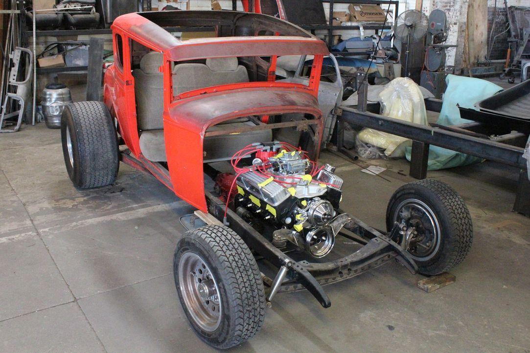 Wird es Dan und seinem Team gelingen, das Kultauto so zu restaurieren, dass der Kunde zufrieden ist? - Bildquelle: Javier Rivera New Dominion Pictures LLC.