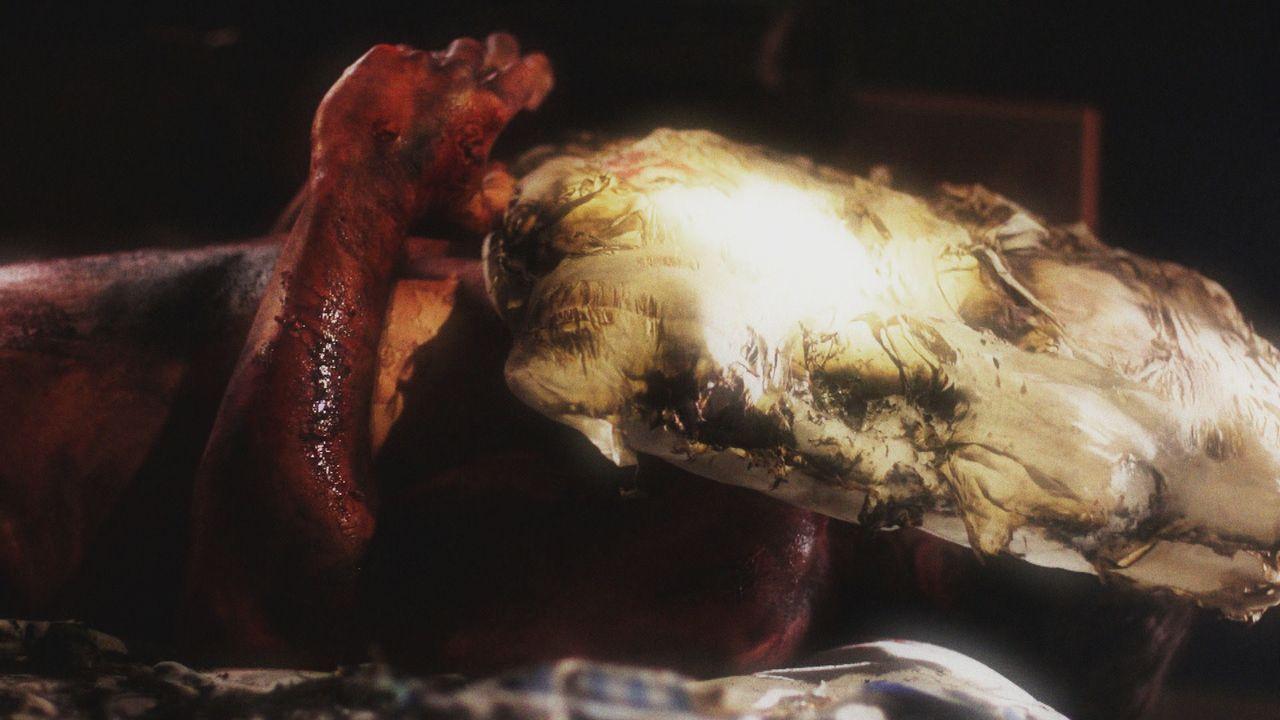 Am 24. Oktober 1988 entdecken Feuerwehrleute den erstochenen und verbrannten Körper des 29-jährigen Robert Haugen in seiner  Wohnung in Sunset Beach... - Bildquelle: LMNO Cable Group