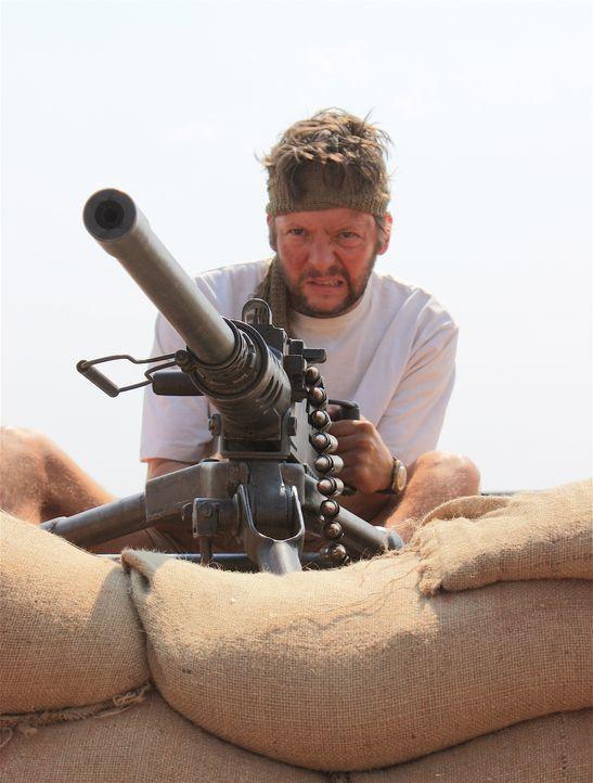 Neun Soldaten der britischen Spezialeinheit SAS bewiesen im Jahr 1972 ihren unglaublichen Mut, als sie in Oman gegen eine Übermacht von Aufständisch... - Bildquelle: James Leigh 2008 DANGEROUS FILMS