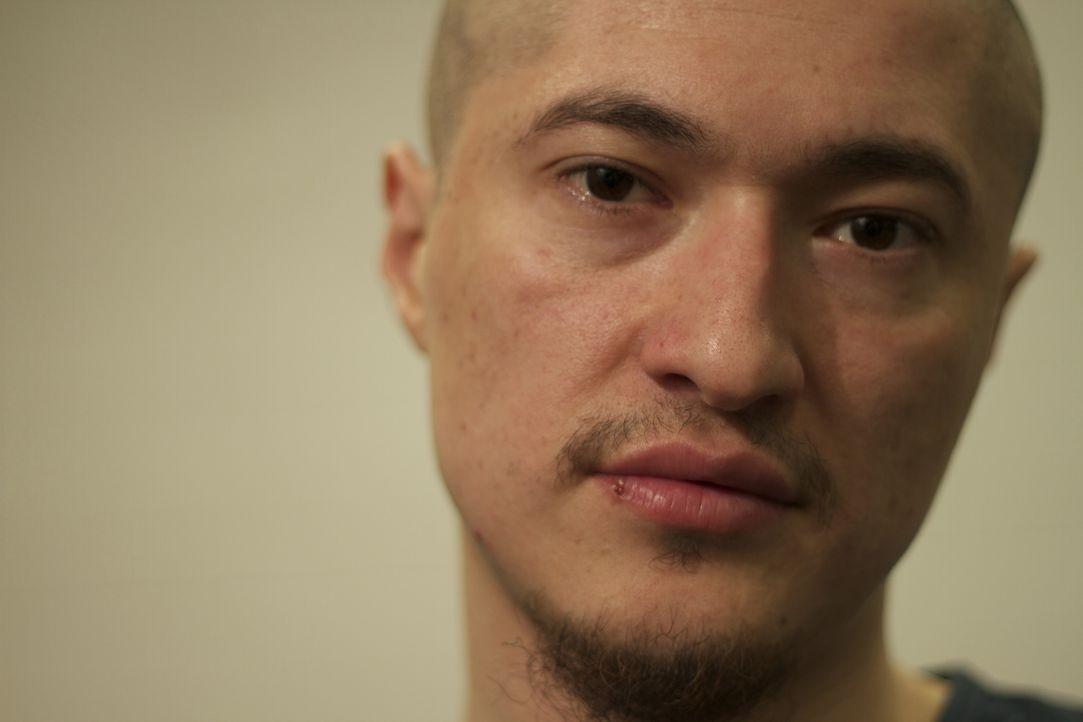 Als einer der gefürchtesten Häftlinge, wird Cristhyan Vizcarra in Einzelhaft versetzt, bis er in Langzeithaft gebracht wird ... - Bildquelle: James Peterson National Geographic Channels