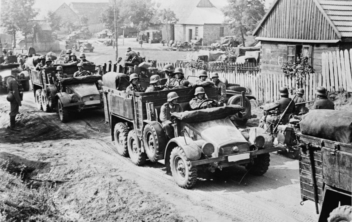 Mit dem Polenfeldzug vom 1. September bis zum 6. Oktober 1939 begann der Zweite Weltkrieg. - Bildquelle: Library of Congress