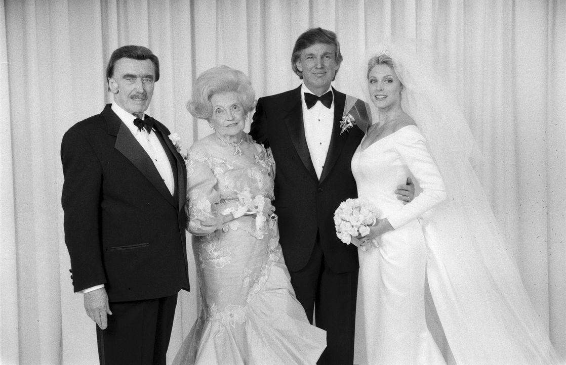 Als Donald Trump seinen Siegeszug im Immobiliengeschäft antritt, strapaziert... - Bildquelle: Time & Life Pictures