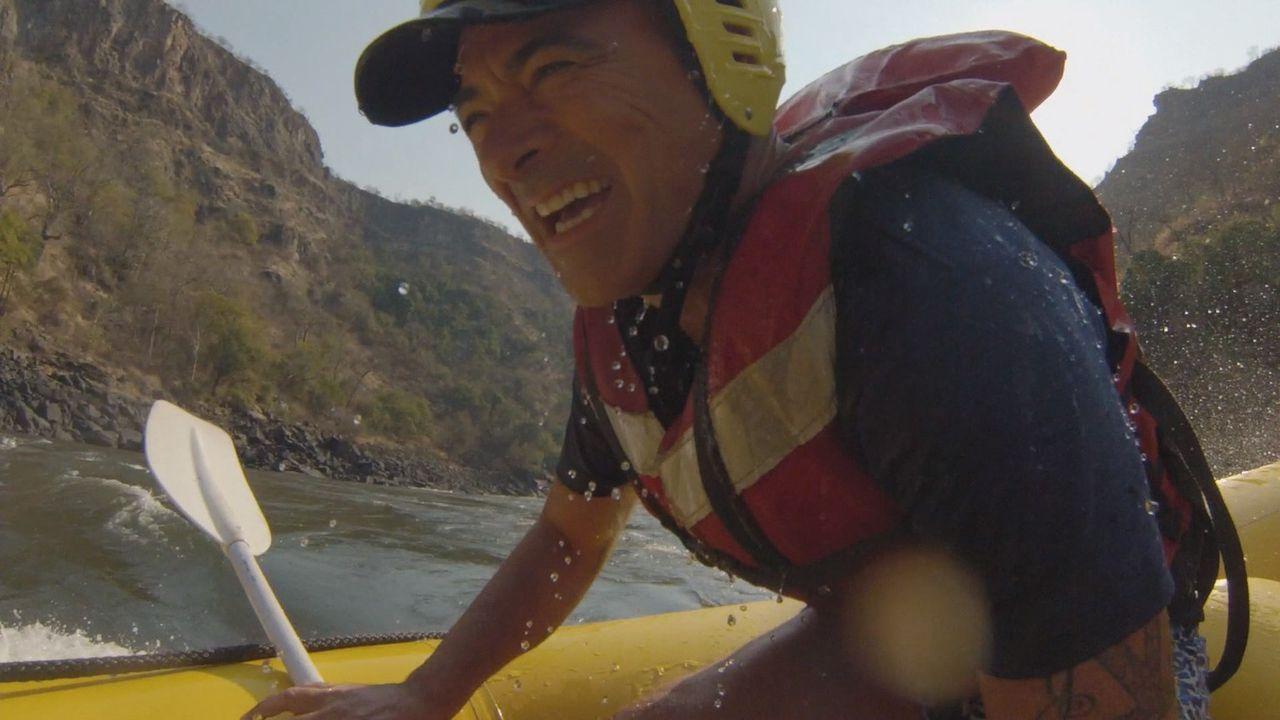 """Todds Firma """"La Colombe"""" feiert 20-jähriges Bestehen, aber das ist nicht der einzige Grund zum Feiern: Sein 10. Hochzeitstag steht vor der Tür. Um d... - Bildquelle: 2015, The Travel Channel, L.L.C. All Rights Reserved."""