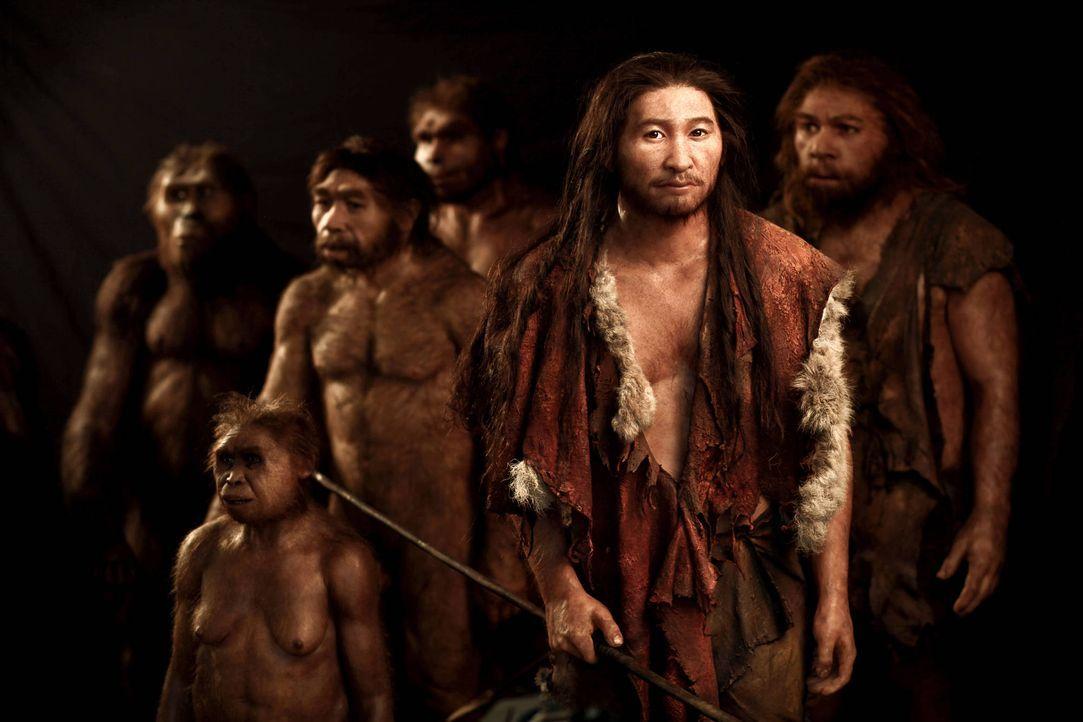 Neueste archäologische Entdeckungen deuten darauf hin, dass sich der Homo Sa... - Bildquelle: 2015 A&E Networks, LLC