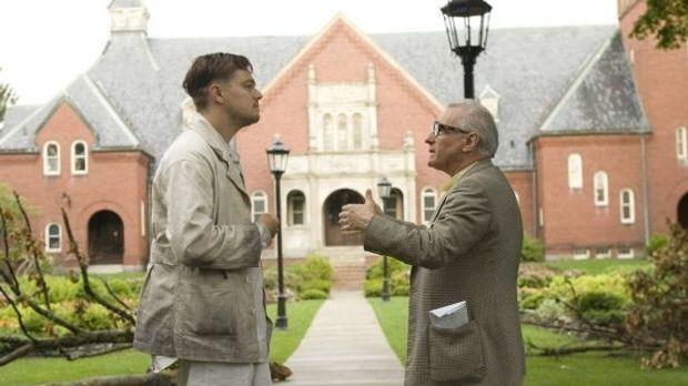 Leonardo DiCaprio und Martin Scorsese