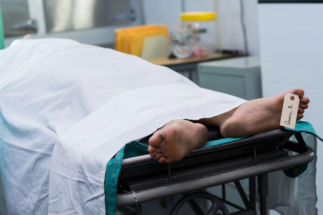Die angebliche Leiche des toten philippinisch-amerikanischen Geschäftsmannes Benjamin Quinto wird aufgebahrt. Aber wird hier ein falsches Verbrechen... - Bildquelle: Darren Goldstein Cineflix 2015