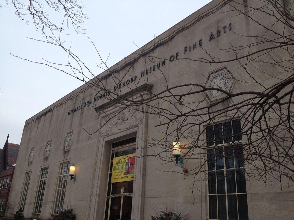 """Im Kunstmuseum """"Michele and Donald D'Amour Museum of Fine Arts"""" ist eine große Bandbreite amerikanischer und europäischer Malerei zu sehen, darunter... - Bildquelle: 2014, The Travel Channel, L.L.C. All Rights Reserved."""