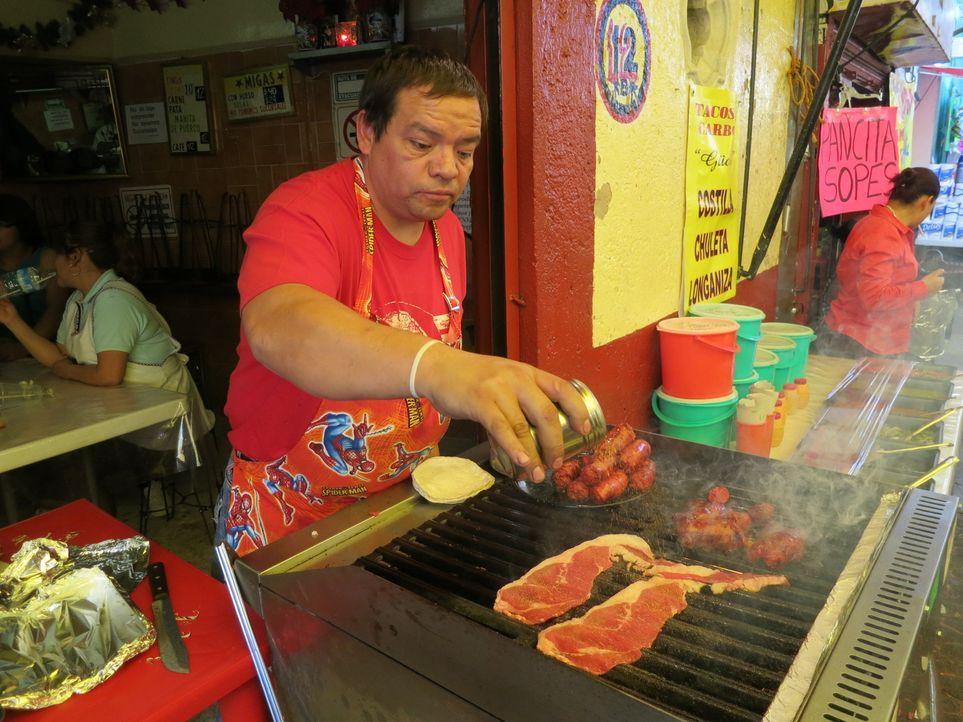 Die Essenskultur und Lebensart in Mexiko fasziniert Anthony Bourdain ... - Bildquelle: 2014 Cable News Network, Inc. A TimeWarner Company All rights reserved