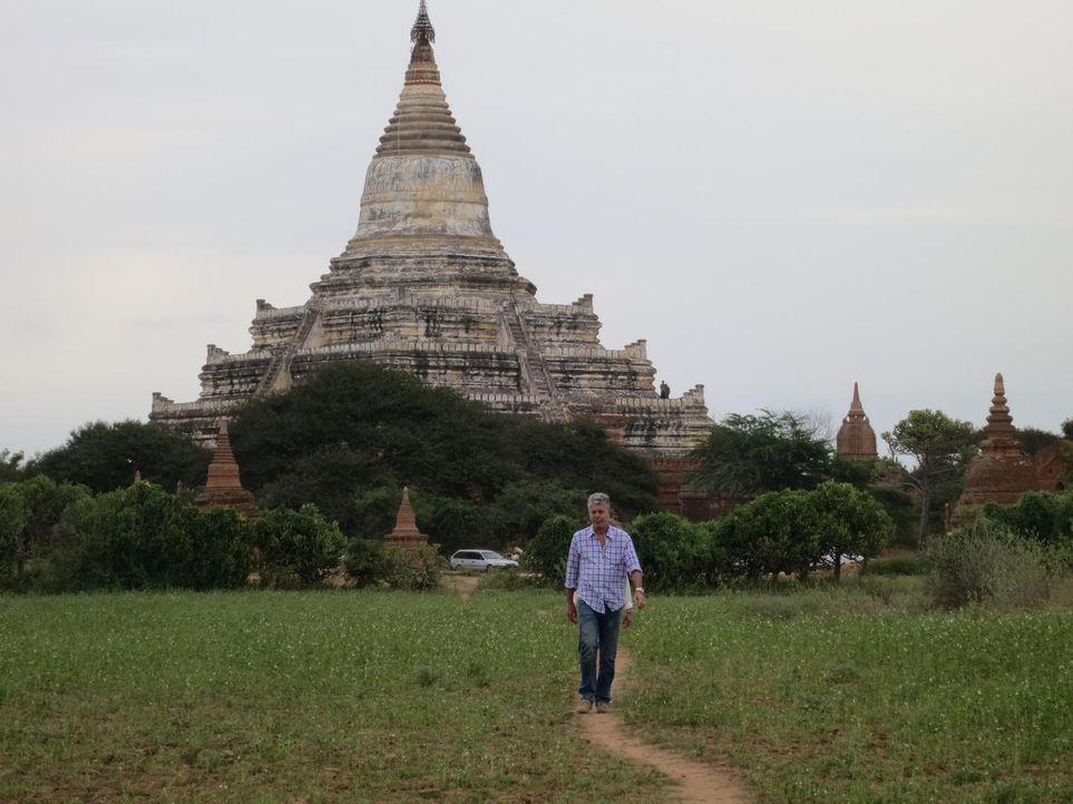 Begibt sich auf eine kulinarische Reise nach Myanmar: Anthony Bourdain - Bildquelle: 2013 Cable News Network, Inc. A TimeWarner Company. All rights reserved.