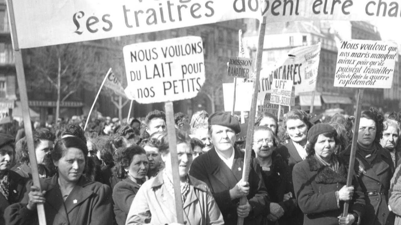 Kaum hatten die Alliierten die Franzosen von der Herrschaft der Nazis erlöst, da kam ein neues Problem auf das Volk zu: Es gab nicht genug Essen. Di... - Bildquelle: Vivendi Content and Lets Pix Productions