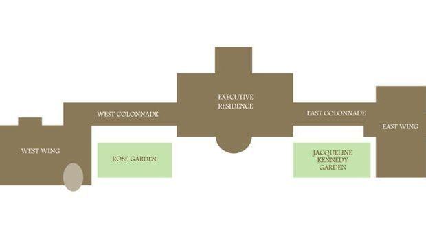 Weißes Haus: Gebäudeplan