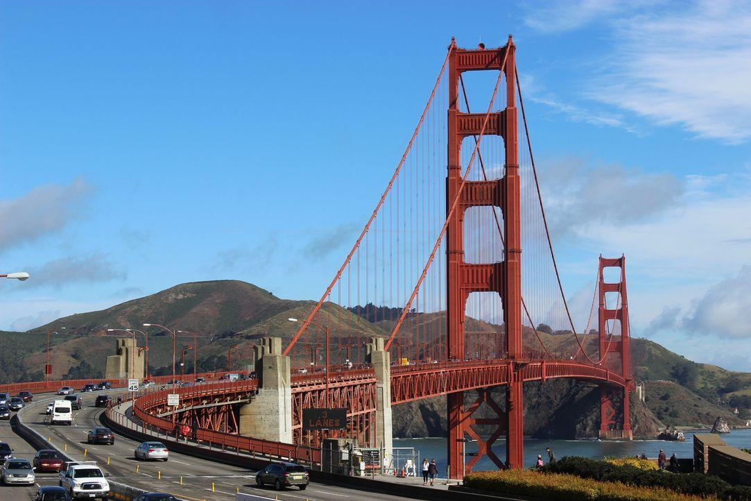 Als der Ingenieur Joseph Baermann Strauss die Golden Gate Bridge konstruierte, wurden ihm immer wieder Steine in den Weg gelegt, doch der Brückenbau... - Bildquelle: Indigo Films/ DCL