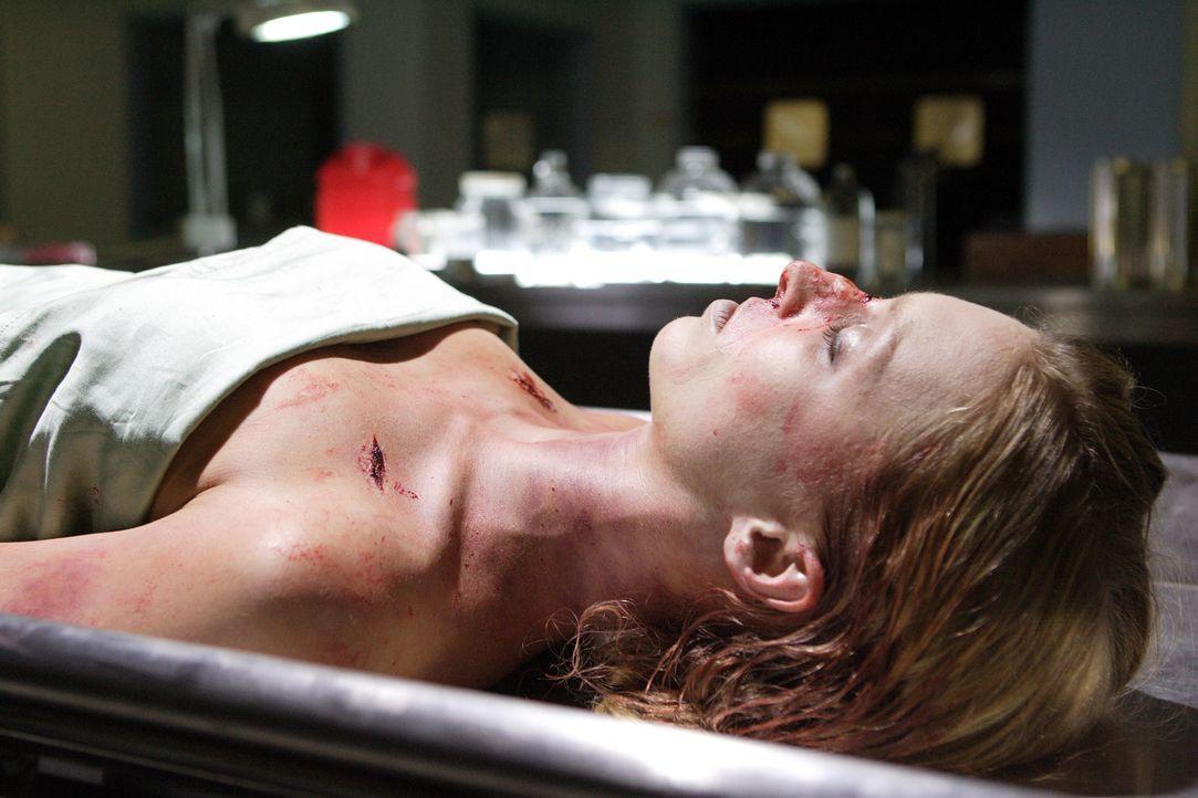 Warum musste die Immobilienmaklerin Sarah Walker (Jennifer Bartsch) sterben? - Bildquelle: Ian Watson Cineflix 2008