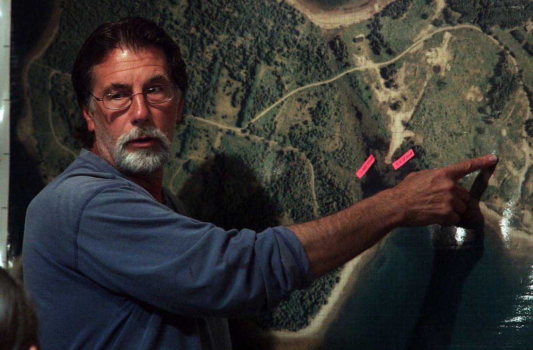 (2. Staffel) - Setzt die Suche nach dem Schatz von Oak Island mit den anderen Abenteurern fort: Rick Lagina ... - Bildquelle: 2014 A&E Television Networks, LLC. All Rights Reserved/ PROMETHEUS ENTERTAINMENT