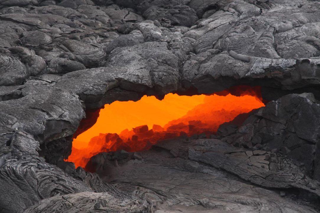 Es gibt zahlreiche Zivilisationen, die durch Vulkanausbrüche, Erdbeben, Fluten oder Meteoriteneinschläge ausgelöscht wurden. Doch wer ließ diese Nat... - Bildquelle: United States Geological Survey