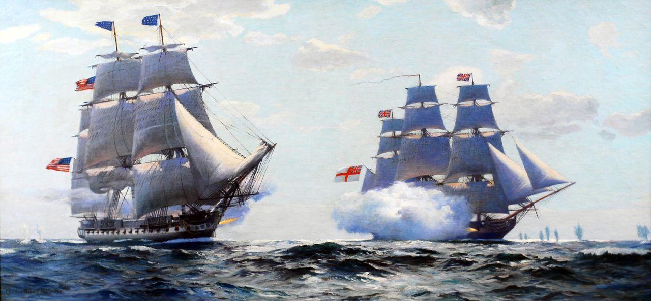 """Die """"USS Constitution"""" ist ein Symbol für die Erfolge der US Navy, vor allem wegen ihrer zentralen Aufgabe bei der Gründung und Verteidigung der Ver... - Bildquelle: Lou Reda Productions, Inc."""