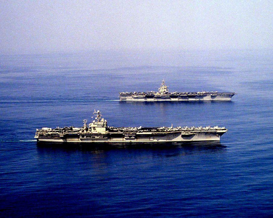"""""""The Big E"""" - das war der Spitzname des am meisten dekorierten Schiffs der amerikanischen Streitkräfte. Die USS Enterprise hatte während des Zweiten... - Bildquelle: Lou Reda Productions, Inc."""