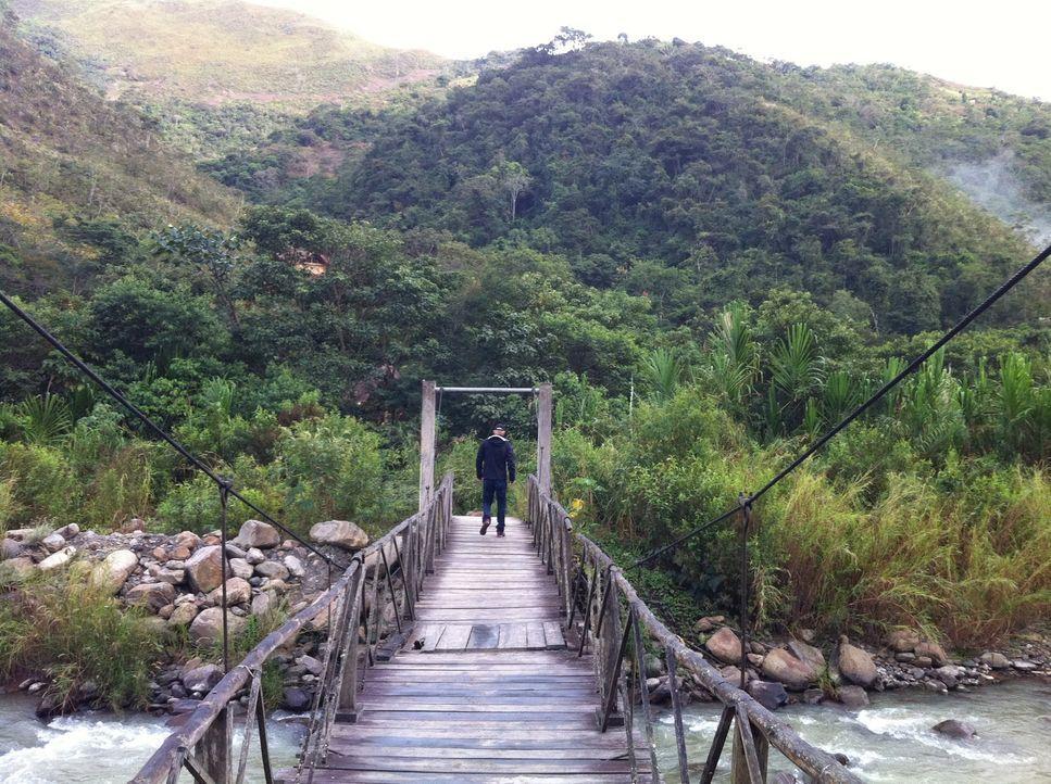 Todd Carmichael begibt sich in Bolivien auf die Suche nach exotischen Kaffeepflanzen ... - Bildquelle: 2012, The Travel Channel, L.L.C. All rights Reserved.