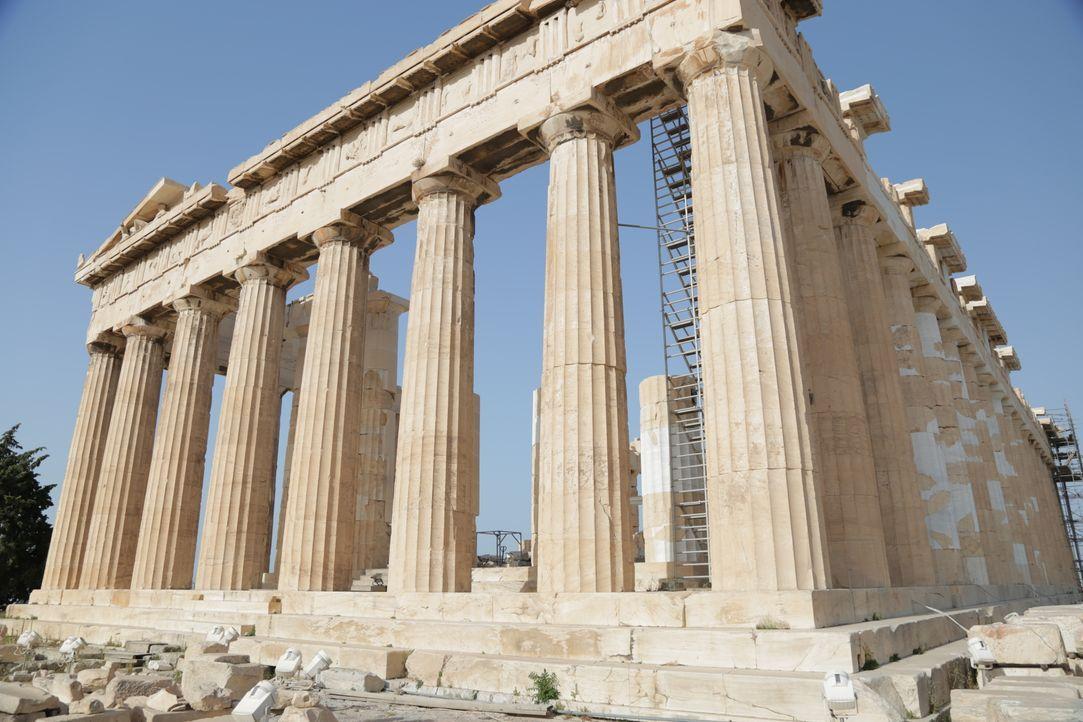 Auf der griechischen Mittelmeerinsel Kreta erschufen die Minoer einst eine d... - Bildquelle: 2016, The Travel Channel, L.L.C. All Rights Reserved.