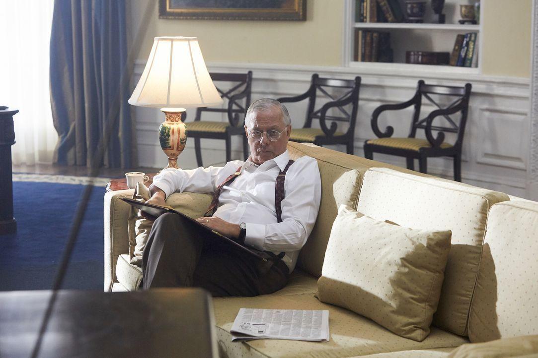 Trotz des gewonnen Weltkrieges wuchs die Unzufriedenheit gegenüber dem neuen Staatsoberhaupt Harry S. Truman (Darsteller unbekannt). Als 1948 Neuwah... - Bildquelle: 2015 Cable News Network, Inc. A TimeWarner Company. All rights reserved