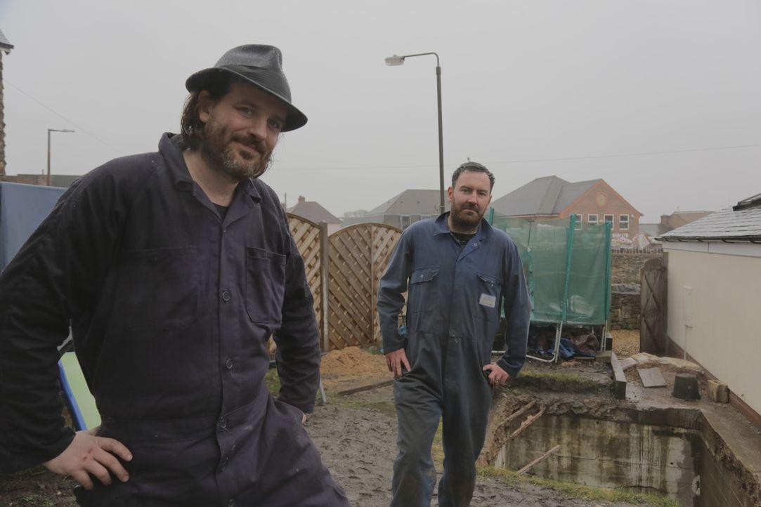 Steve und seine Frau Marie entdecken eines Tages unter ihrem Garten einen Bu... - Bildquelle: PLUM PICTURES LIMITED MMXVII