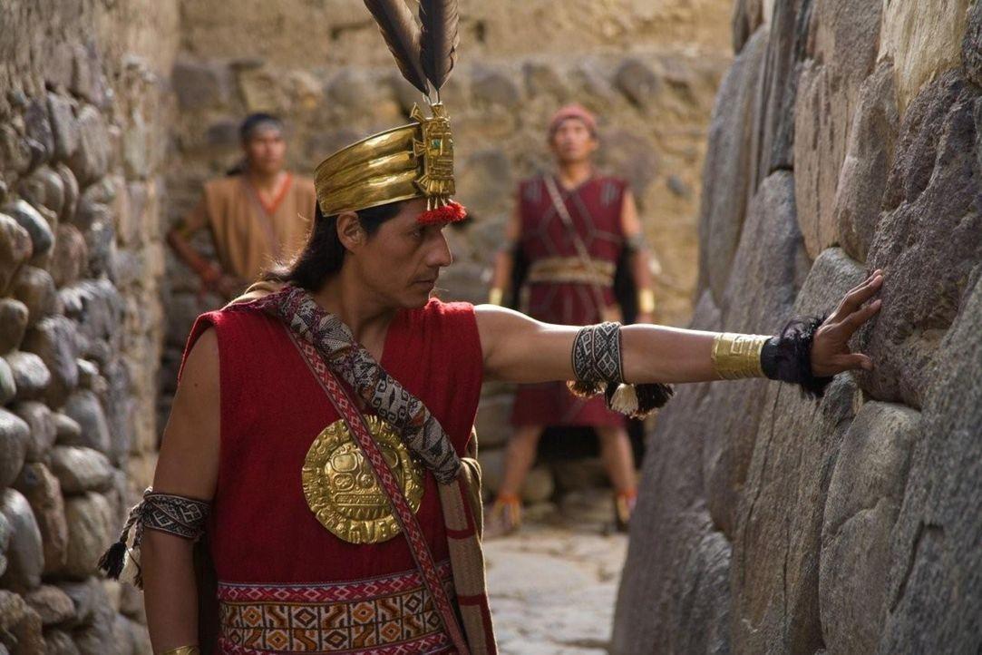 Einer von mehreren Theorien zufolge wurde um 1450 auf Betreiben von Kaiser Pachacútec die Stadt Machu Picchu gegründet ... - Bildquelle: 2008 Darlow Smithson Productions Ltd, an IMG Entertainment Company. Parallax Film Productions Inc.