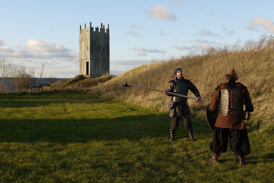 Was hat es mit dem mysteriösen Wikingergrab im dänischen Ostjütland auf sich... - Bildquelle: Blink Films