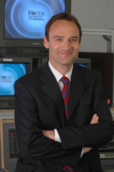 Die Focus TV-Reportage wird von Florian Fischer-Fabian moderiert. - Bildquelle: Sat.1